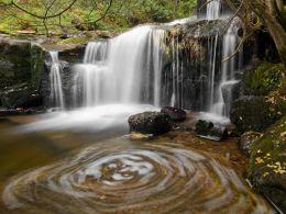 Autumn on the Caerfanell,