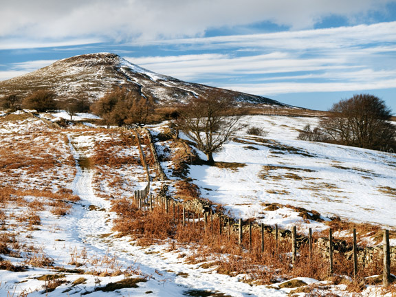 Winter, The Sugar Loaf.