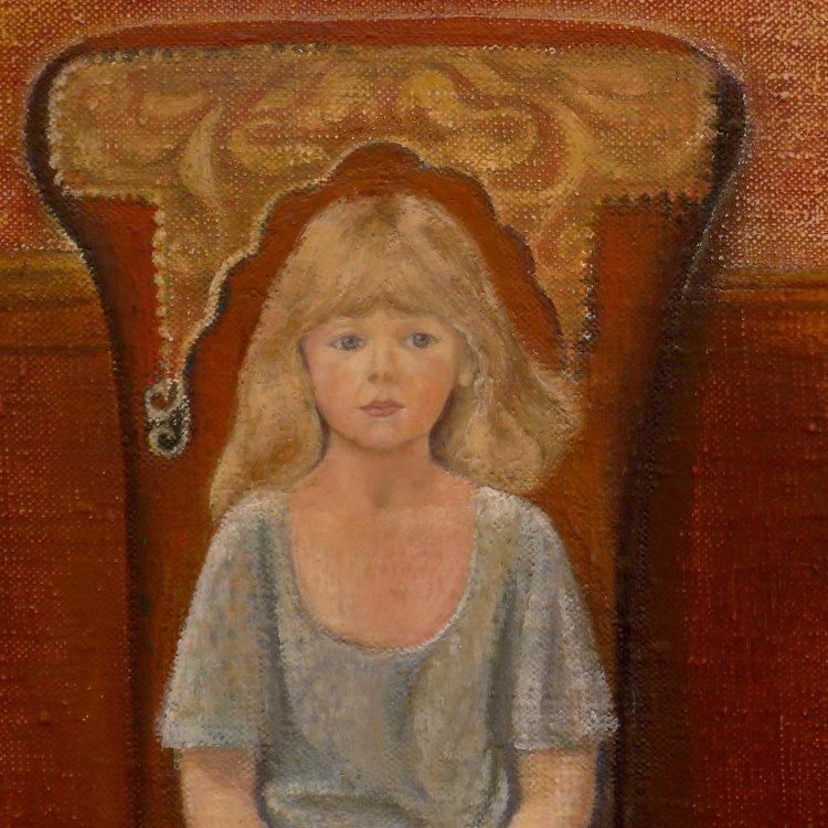 Detail from Oil Portrait