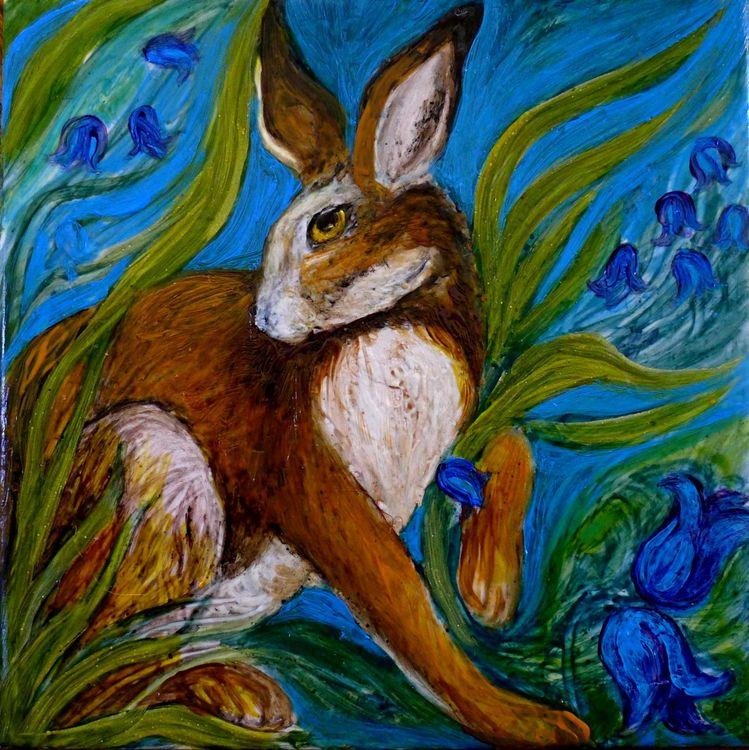 Hare Belles Tile 2.