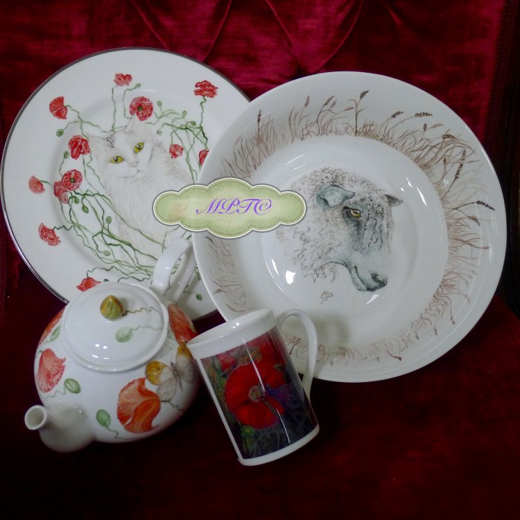 Bespoke Hand Painted China