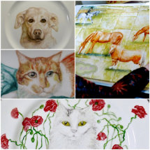 All Quality Fine Bone China and Tiles are Used. Artwork (not for sale) can be viewed on Gallery 1.
