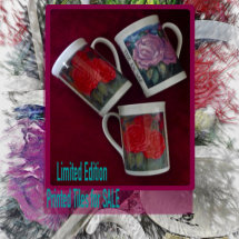 Limited Edition Printed Mugs for Sale