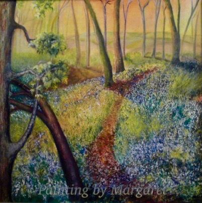 The Bluebell Wood (In Private Collection)