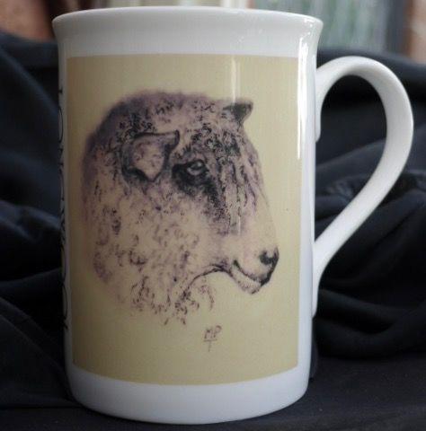 Longwool Sheep Mugs uk