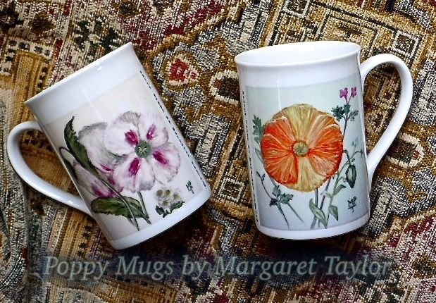 Limited Edition Printed Poppy Mugs £7. 99 each