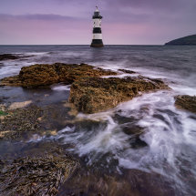 Pink Sky Over Penmon Point