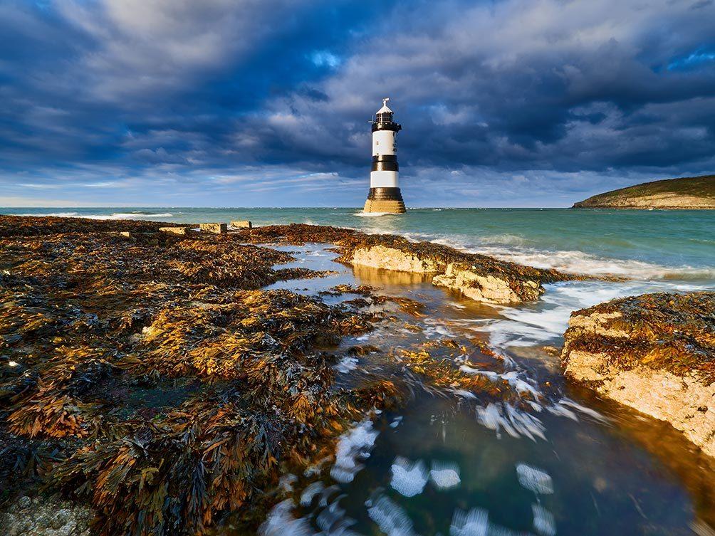 Penmon Lighthouse Sunshine