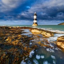 Penmon Lighthouse Sunshine