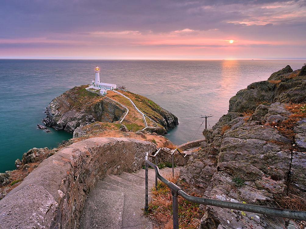 South Stack Lighthouse Steps