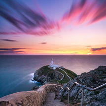 Twilight at South Stack