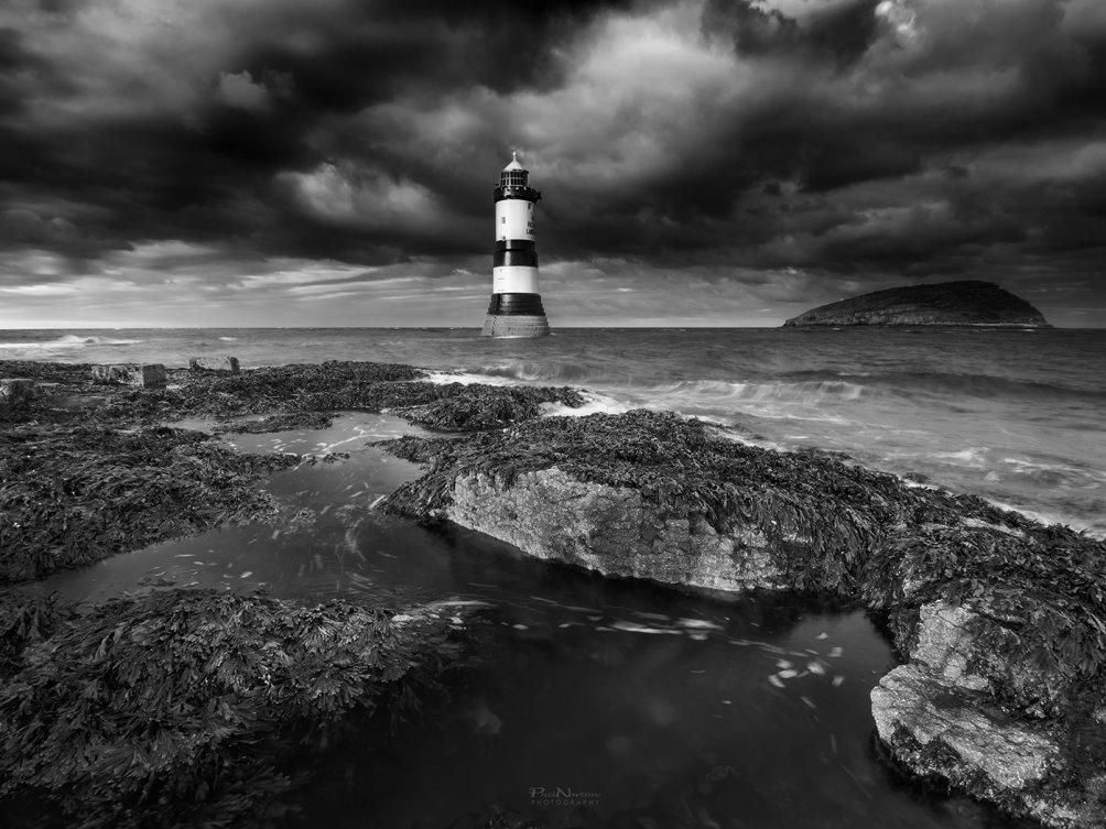 Penmon Lighthouse Mono