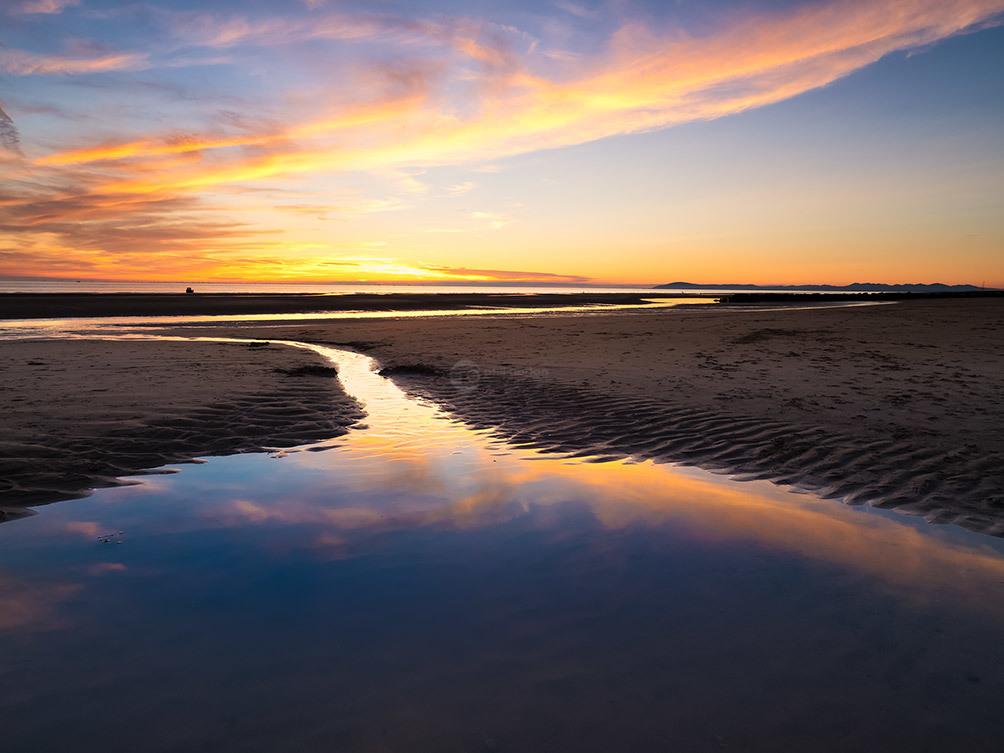 Cleveleys Coast Sunset 1