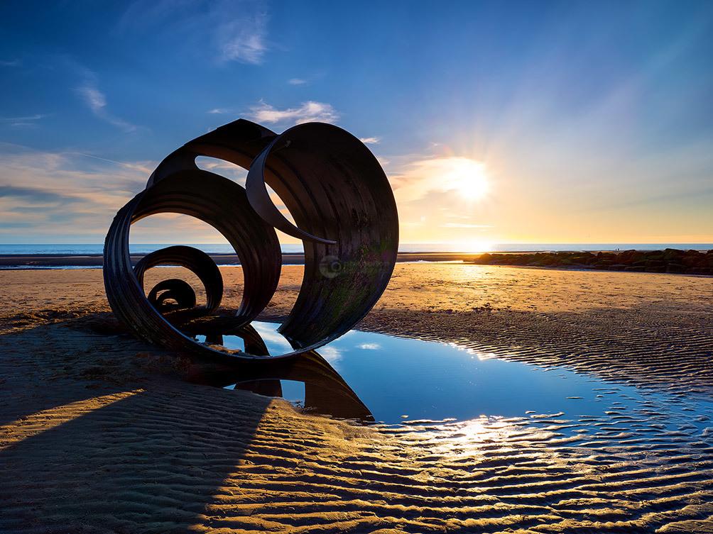 Mary's Shell Sunset I