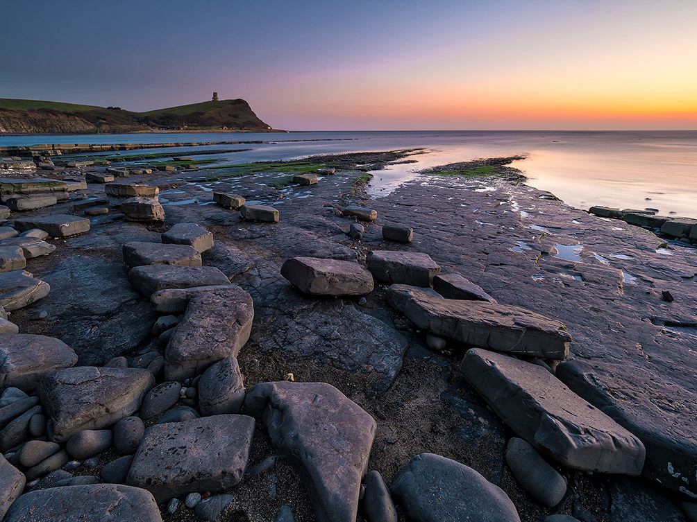 Kimmeridge Bay Sunset