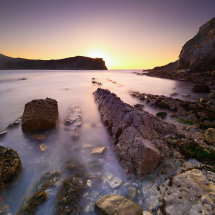 Lulworth Cove Dawn I