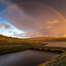 Downry Reservoir Rainbow