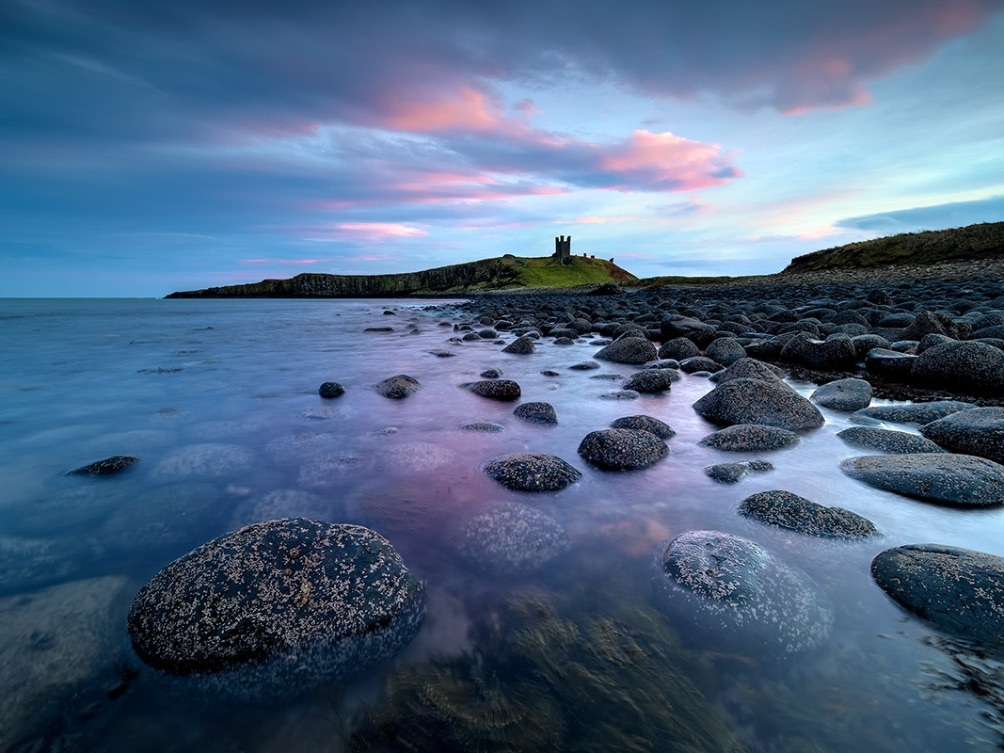 Dunstanburgh Castle Twilight