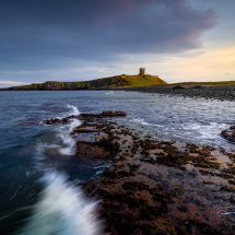 Dunstanburgh Castle Waves