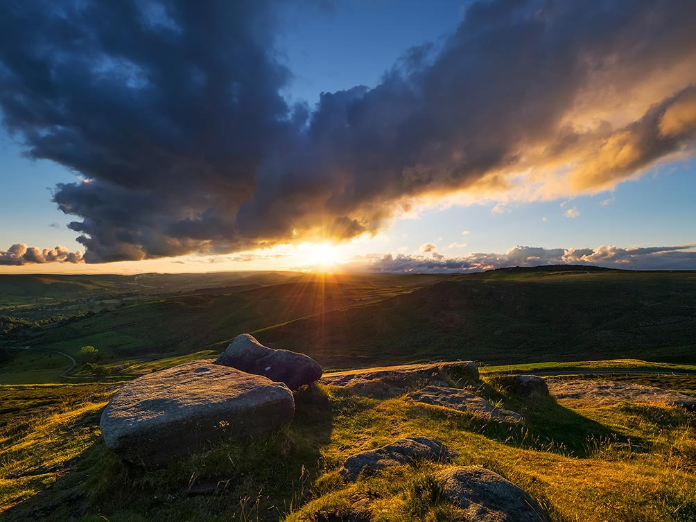 Sunset-Higger Tor