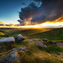 Higger Tor Sunset