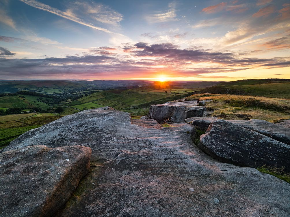 Hope Sunset-Higger Tor