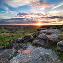 Valley Sunset-Higger Tor