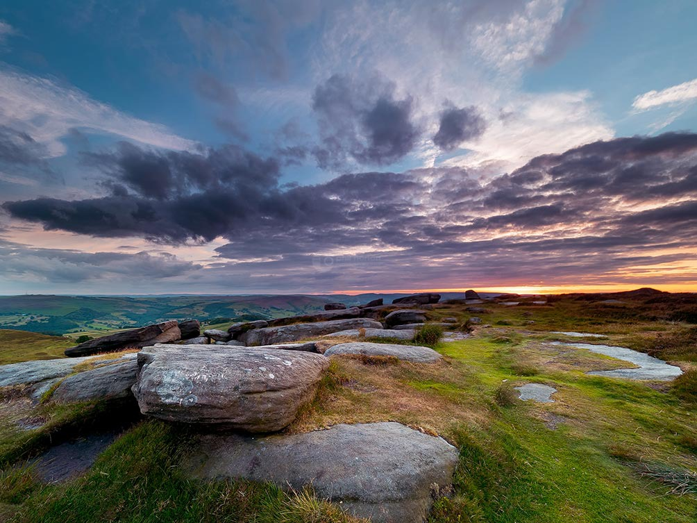 Purple Sunset Higger Tor
