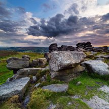Evening On HIgger tor