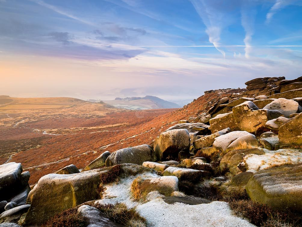 Higger Tor Frosty Morning