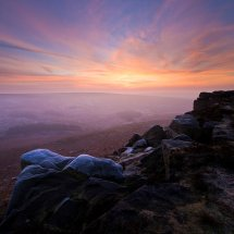 Higger Tor Frosty Sunrise