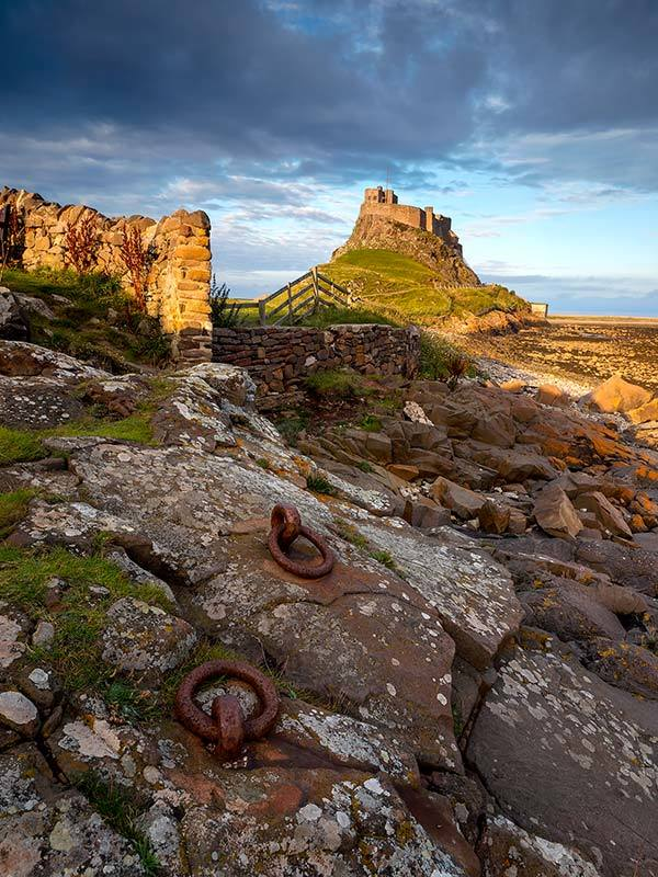 Castle And Rings, Lindisfarne