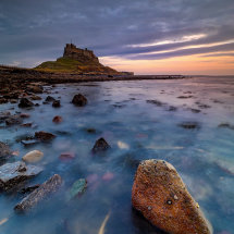 Holy Island Blue Hour