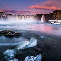 Godafoss Dawn-Iceland