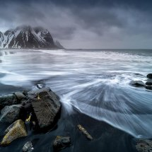 Incoming Tide-Vesturhorn