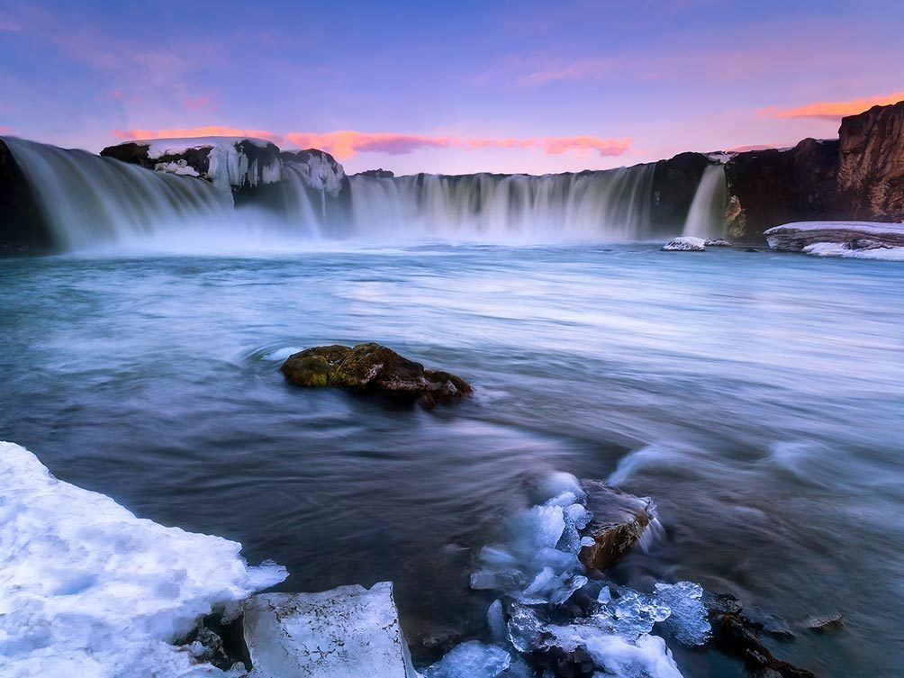 Dawn Over Godafoss I