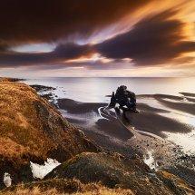 Hvitserker Sunset-Iceland