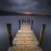 Ashness Jetty at Dusk