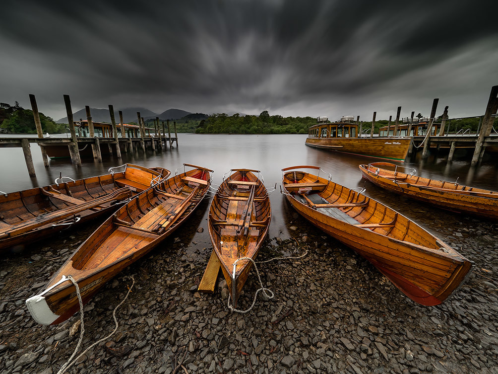 Keswick Boats Storm