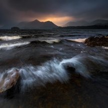 Lake District Derwentwater Storm