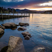 Sunset Derwent Jetty