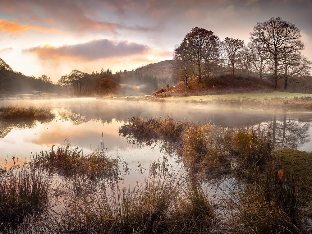 Misty Sunrise, River Brathay