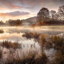 Misty Sunrise, River Brathay