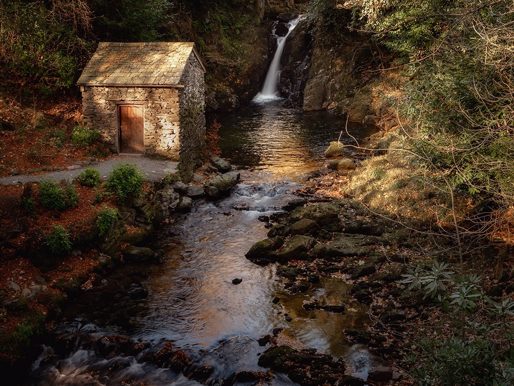 Rydal Grotto in Autumn
