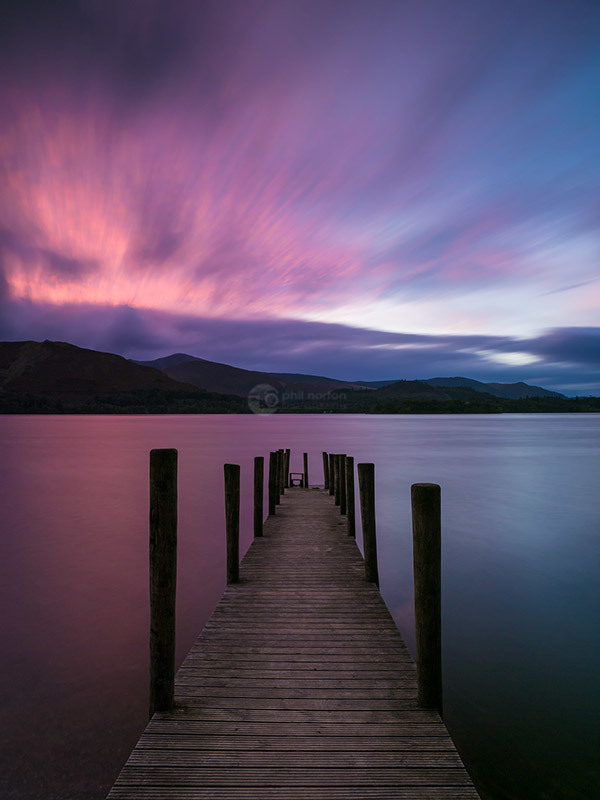 Ashness Jetty Twilight