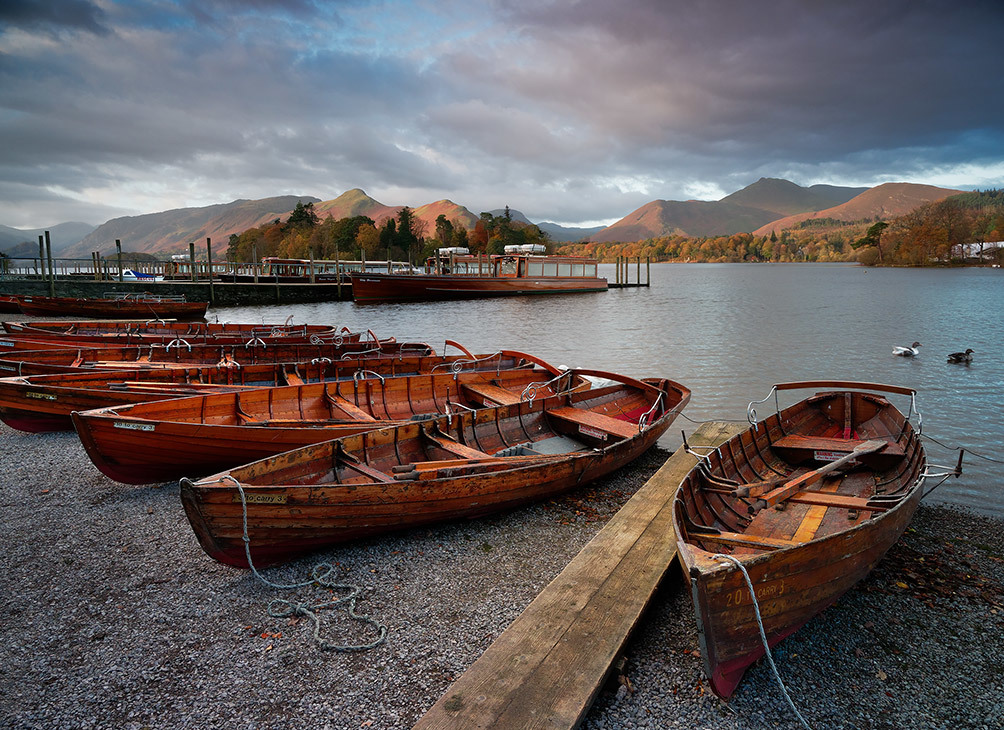 Keswick Boats Dawn I