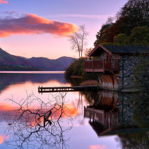 Boathouse Sunset II