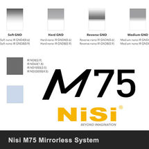 Nisi M75 Filters from £55