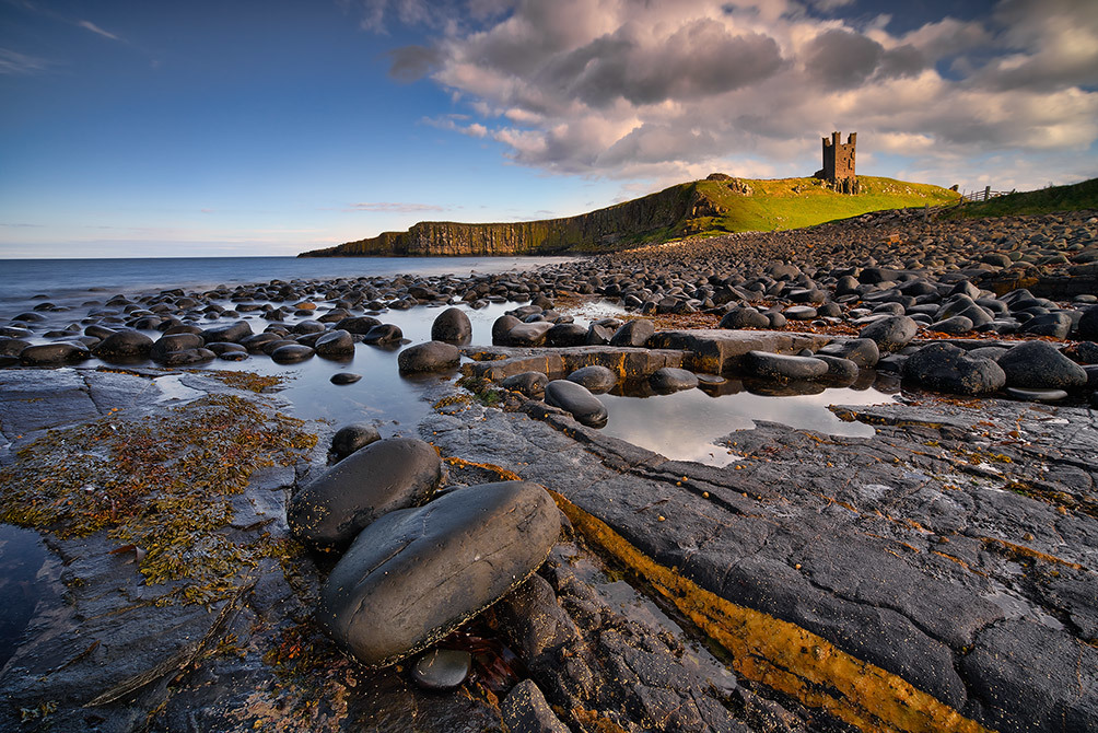 Dunstanburgh Castle Low Tide