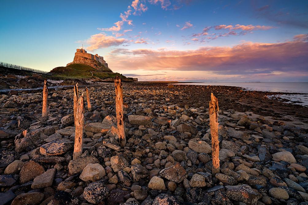 Lindisfarne Sunset I
